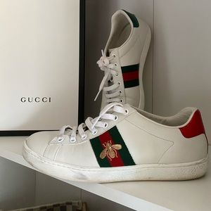 Authentic Gucci sneakers size 7.5